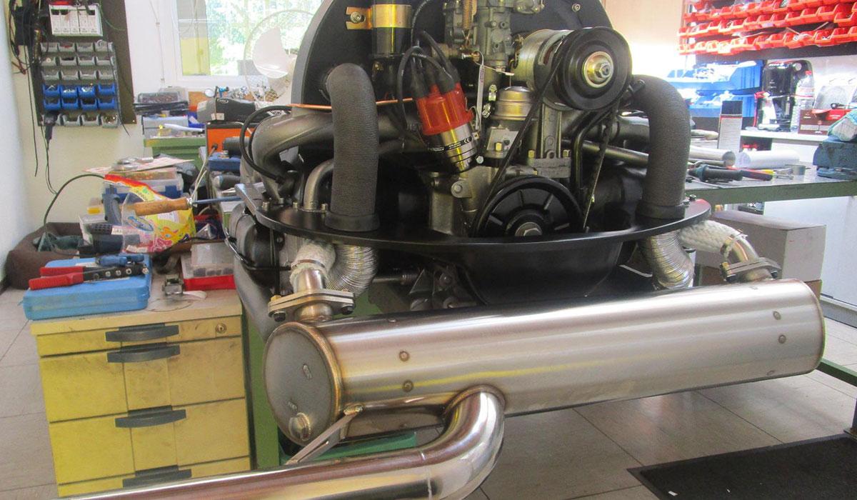 Motor für VW T2